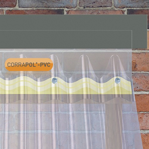 Corrugated PVC Wall Flashing