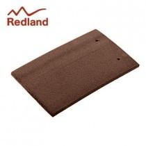 Redland Plain Eaves/Top Tile - Concrete Tile - Natural Red