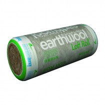 Knauf Insulation - Loft Roll Insulation 44 Earthwool Combi Cut (12.18m x 1140mm x 100mm - 13.89m2)