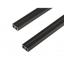 Composite Wall Cladding Joists - 50mm x 30mm (4000mm) - Charcoal