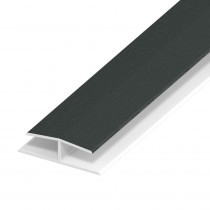 Soffit Board Panel Joint - 40mm - Anthracite Grey (5m)