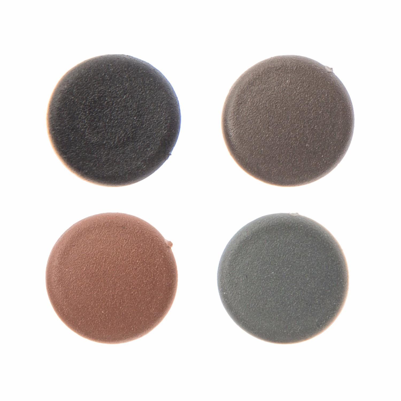 ONDULINE COROLUX SLATE GREY  CORRUGATED ROOFING PLASTIC SCREW COVER CAPS