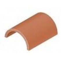 Sandtoft Half Round Clay Ridge - Natural Red