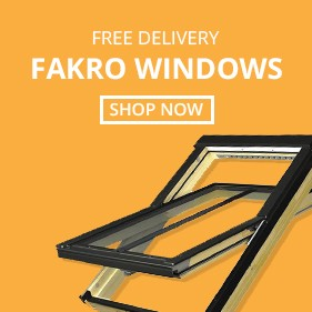 Free Delivery on FAKRO Roof Windows