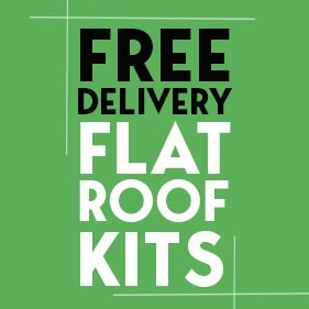 Free Delivery on Flat Roof Kits