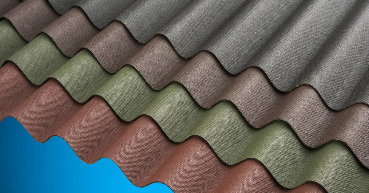 Bitumen Roofing Sheets in Various Colours