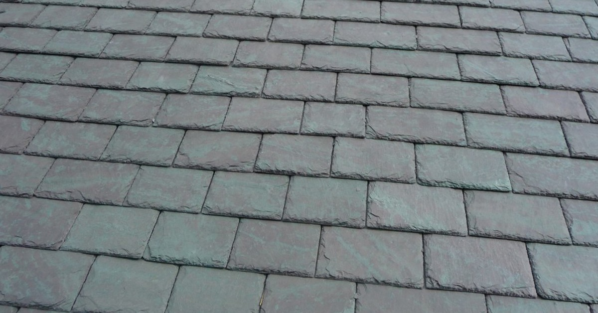 Example of Natural Slates on a Roof