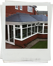 Conservatory Synthetic Tiled Roof