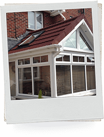 Conservatory Metal Tile Effect Roof