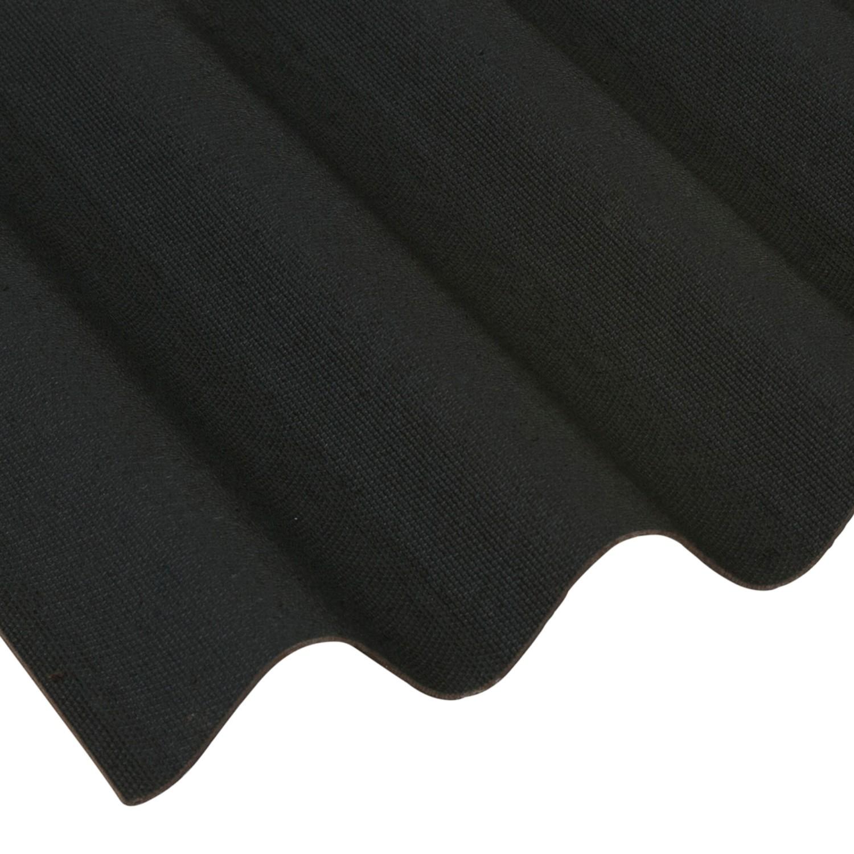 Onduline Black Corrugated Bitumen Roof Sheet 2000 X 950mm Reviews Roofing Megastore Reviews Feefo